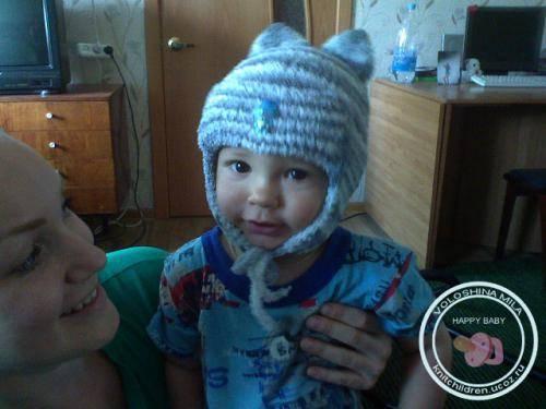 Вязание крючком детские шапочки летняя