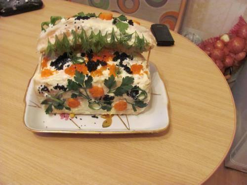 Салат сундучок фото